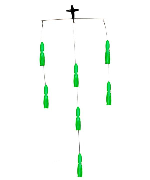 18in Squid Spreader Bar - Green