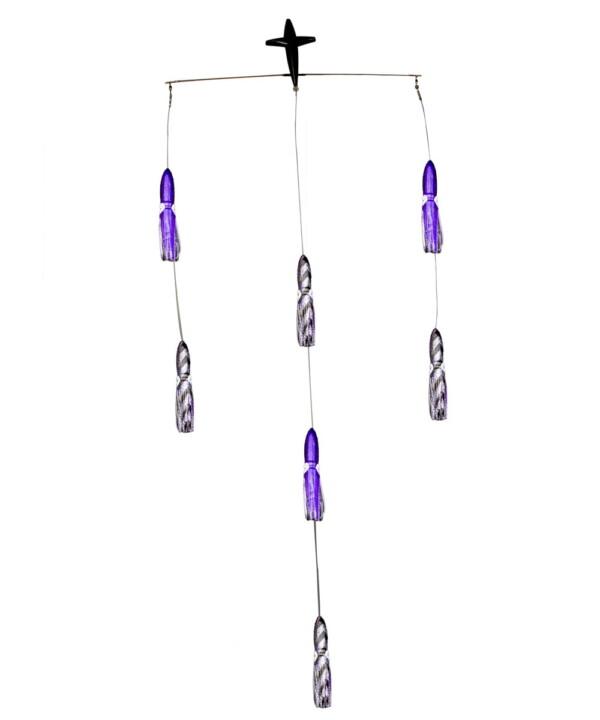 18in Squid Spreader Bar - Purple/Black
